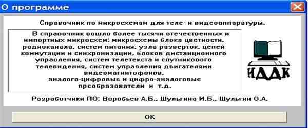 Sprav_TV - справочник по